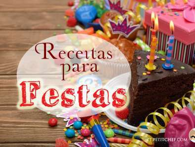 Receitas para todas as festas do ano