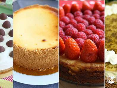 Top 16 das receitas de Cheesecake