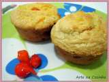 Receita Muffin light de aveia e legumes
