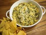 Recipe Spinach artichoke dip and happy new year