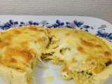 Receita Quiche de frango ao curry
