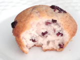 Receita Muffin de cranberries