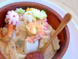 Recipe Lontong sayur - indonesian cooked vegetables in coconut milk with rice cake