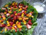 Receita Salada tropical da chris