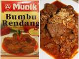 Recipe Beef in chilli and coconut sauce (rendang)