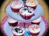 Receita Chocolate cupcakes with cream cheese frosting