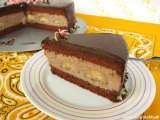 Recipe Banana chocolate cake