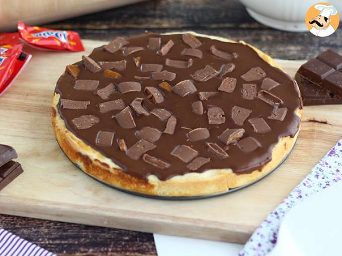 Tarte/torta de chocolate daims ikea