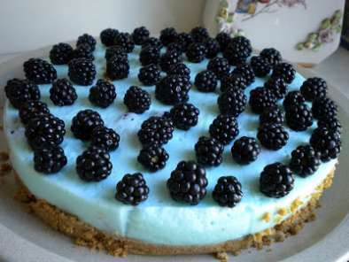 Receita Cheesecake de frutos do bosque