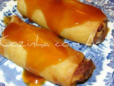 Receita Crepes chineses
