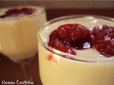 Receita Cheesecake figos e funghis (light e no copinho)