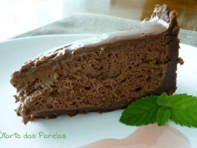 Receita Torta mousse de chocolate