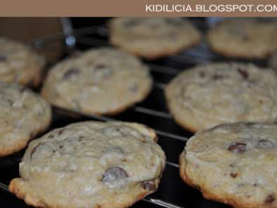 Receita Soft and chewy chocolate chip cookies