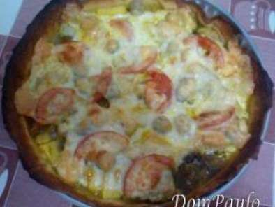 Receita Pizza indiana