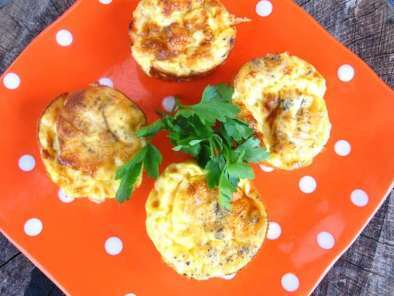Receita Mini quiches de frango