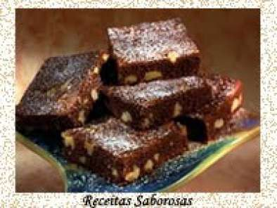 Receita Brownie de chocolate e nozes