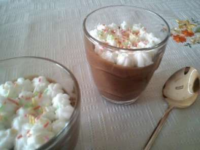 Receita Mousse de chocolate e café