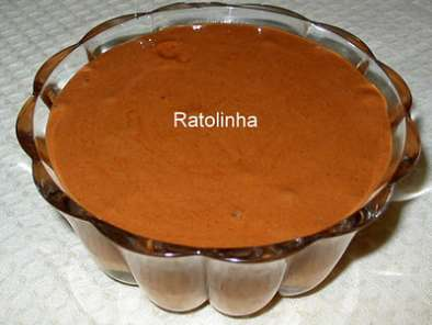 Mousse de chocolate caseira
