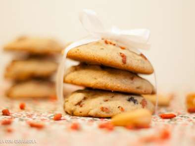 Receita Cookie de goji berry