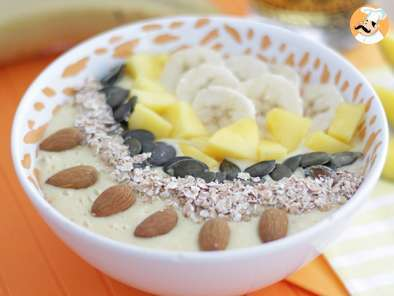 Receita Smoothie bowl manga banana
