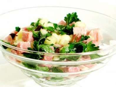 Receita Salada de tender light