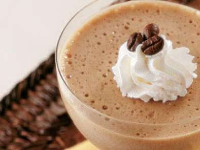 Receita Mousse de café com chantilly