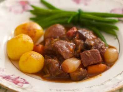 Receita Boeuf bourguignon by julia child