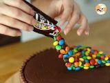 Passo 12 - Gravity Cake - Bolo Gravidade