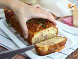 Passo 6 - Bolo Salgado, Bolo com queijo Raclette