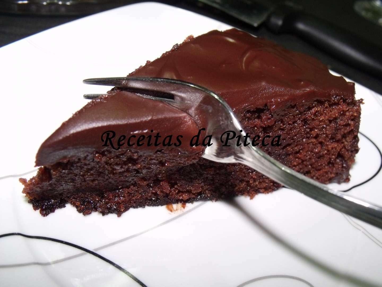 A melhor receita de bolo de chocolate húmido, Receita ...
