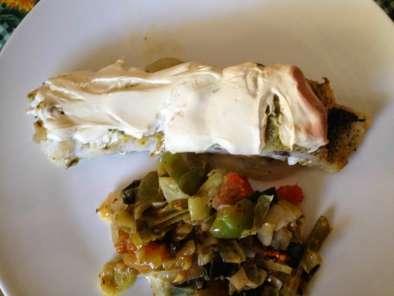 Legumes salteados no forno