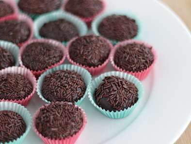 Brigadeiro de Chocolate do PetitChef