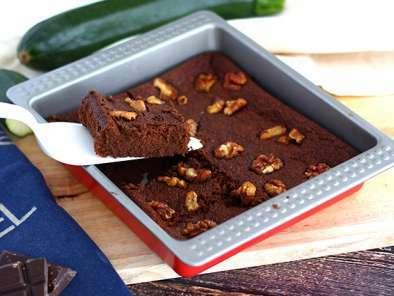 Brownie de curgetes (abobrinhas)