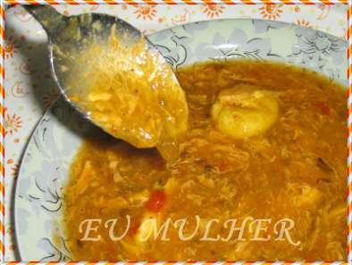 ingredientes para fazer caldo de mandioca