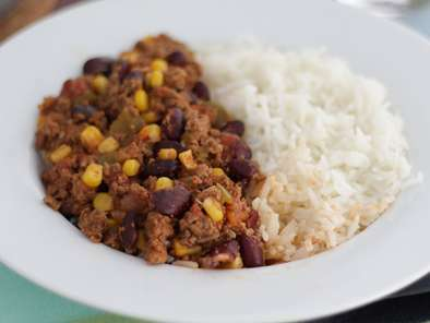 Chili com carne Mexicano