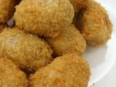 Croquetes de Frango e Curry