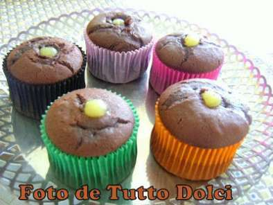 Cupcakes de chocolate com cobertura de cream cheese, Foto 2