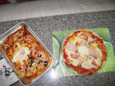 Pizza! Massa crocante