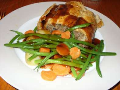 Minced Beef Wellington - a Jamie Oliver favourite.