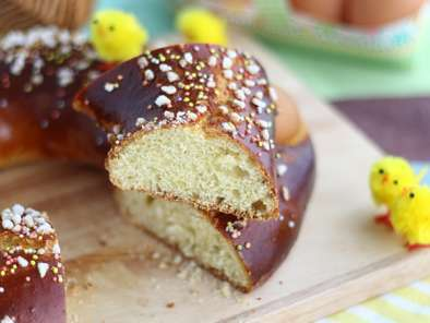 Mouna, an Easter brioche - Video recipe!, Photo 3