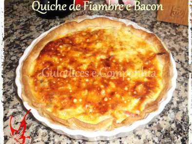 Quiche de Fiambre e Bacon