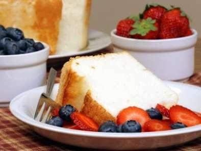 Sobrou claras de ovo? faça um angel food cake!, Receita