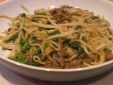 Sweet and Sour Cambodian Beef Noodles