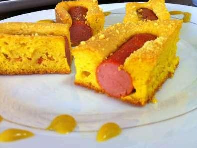 Torta de Salsicha e Cenoura