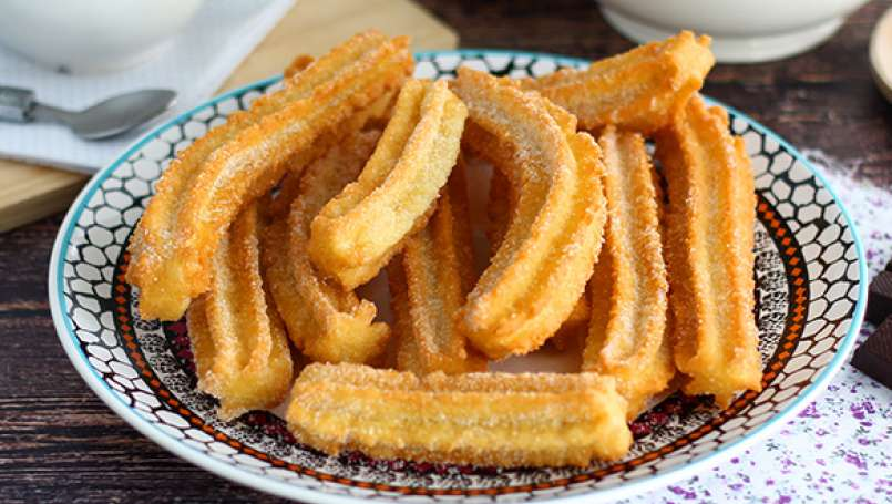 Churros crocantes